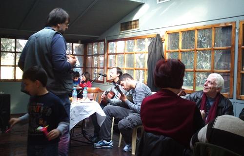Παρέα με τους μουσικούς μας